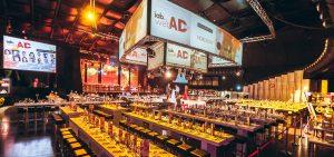 IAB WEBAD 2016: Blick über den vorbereiteten Saal
