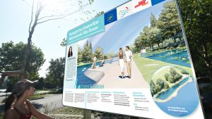 Gestaltung Wiener Wasserweg