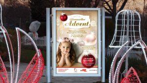 Kampagne Adventmarkt Hirschstetten