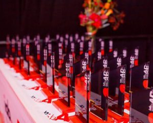 Trophies designed by message