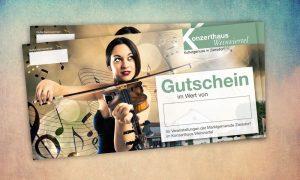 Gestaltung Webauftritt Konzerthaus Weinviertel