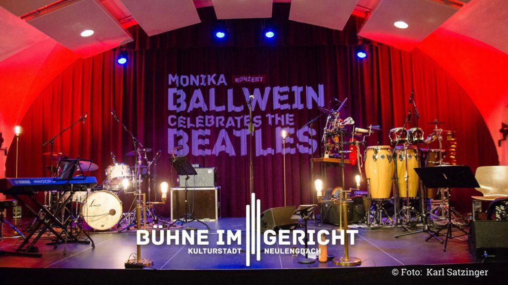 Die Bühne im Gericht Neulengbach