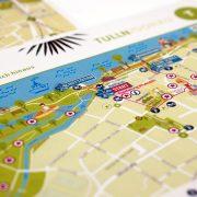 Kartenausschnitt Stadtzentrum