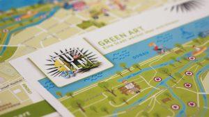 Design Erlebniskarte Green Art
