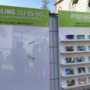 Moodboard und Postkartenwand Mödling