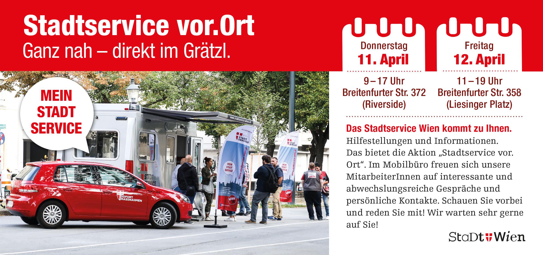 "Grätzl-Aktion ""Stadtservice vor.Ort"""