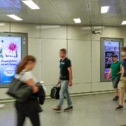 Railscreen Hauptbahnhof Wien