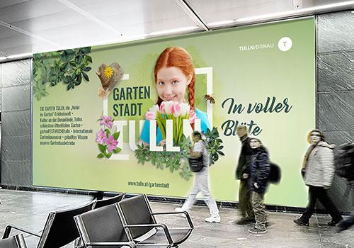 Bahnhof Plakat Imagekampagne Tulln