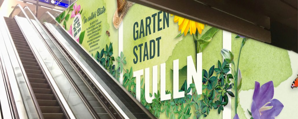 Rolltreppe - Wiener Hauptbahnhof - Tulln