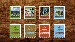Eine Marke für sich – Briefmarken St. Aegyd