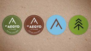 Gekommen um zu bleiben – St. Aegyd Sticker