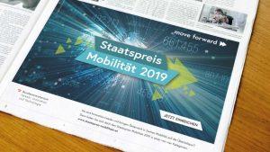 Printanzeige Staatspreis Mobilität