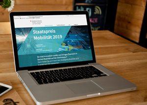 Landing Page Staatspreis Mobilität 2019