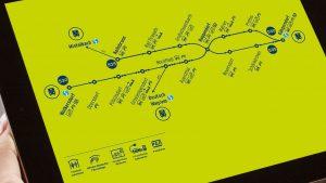 LISA-Fahrplan
