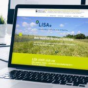 LISA-Webseite
