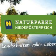 Naturparke Niederösterreich Logo und Slogan