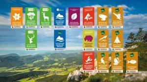 Naturparke Niederösterreich Logos