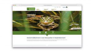 Website Naturparke niederösterreich