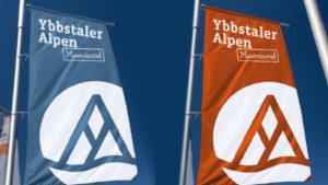 Ybbstaler Alpen Fahnen