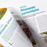 Korneuburg Stadtzeitung Layout