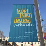 Korneuburg Verbindet Fahne