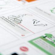 Storyboard für das Erklärvideo zum Thema Zero Waste für die MA48 der Stadt Wieno