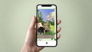 Werbekampagne auf instagram für Grünraumwettbewerb der Stadt Wien