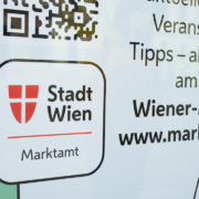 Detail Infowand: Markt-App