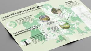 Grünraum-Infografik Stadt Wien