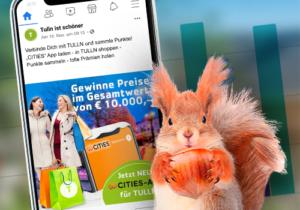 Social Media Werbung Tulln CITIES-App