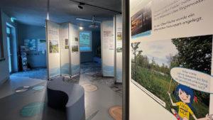 Multimediales Ausstellungsdesign