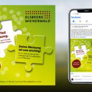 Aktivierungskampagne mit Aufrufen zur Beteiligung auf Social Media
